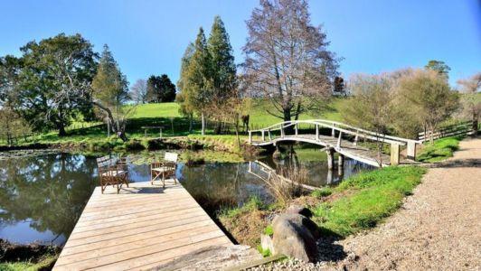 jardin - Underhill par Graham Hannah à Waikato, Nouvelle-Zélande