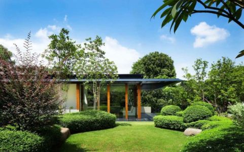 jardin - Water Lily House par Guz Architects - Singapour