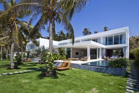 façade jardin - sofka par MM++ Architects - Phan Thiet, Vietnam