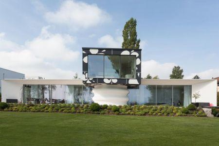 façade jardin - villa-am-bodensee par jung - lac constance, Suisse