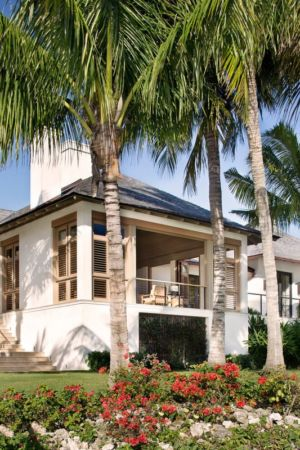 jardin - villa par Krutz Homes - Floride, USA