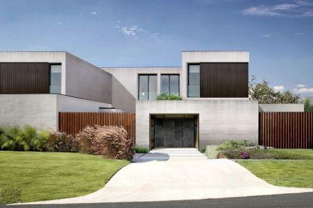 Jardin & Clôture - Super-Villa Par Wolf Architects - Los Angeles, USA