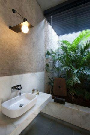 lavabo - Deolali House par Spam Design Architects - Deolali, Inde