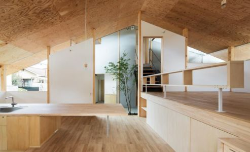 lavabo - Eaves-House par Y Plus M Design - Kyoto, Japon