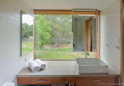 lavabo - Farm-House par William McDonough + Partners - Californie, USA