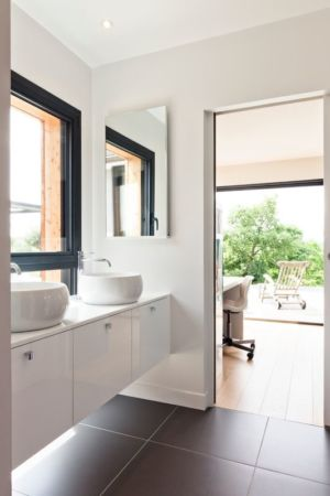 lavabo - House-in-Lyon par Damien Carreres - Lyon, France