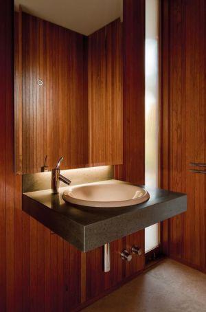 lavabo - Kübler House par 57STUDIO - Stgo, Chili