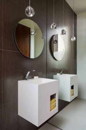lavabo - Los-Altos-House Dotter Solfjeld Architecture - Los Atlos, USA