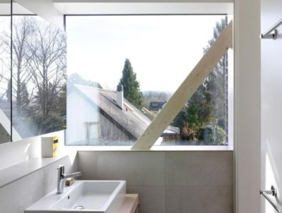 lavabo - Single-family-house par Christian von Düring architecte, Suisse