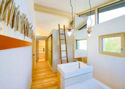 lavabo entrée salle de bains - alpine-residence par Bau-Fritz - Munich, Allemagne