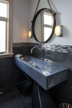lavabo original - Rock Copper Glass par cdrg+RedTeam - Canada