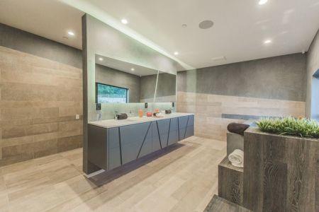 lavabo salle de bains - Angular-Lines par Amit Apel - Los Angeles, USA