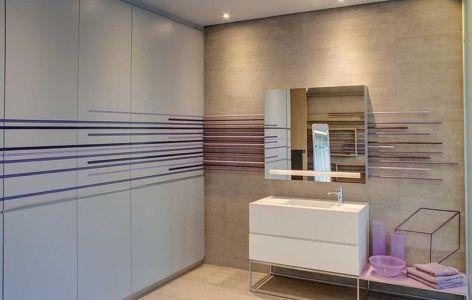 lavabo salle de bains - House Sar par Nico van der Meulen Architects - Johannesbourg, Afrique du Sud