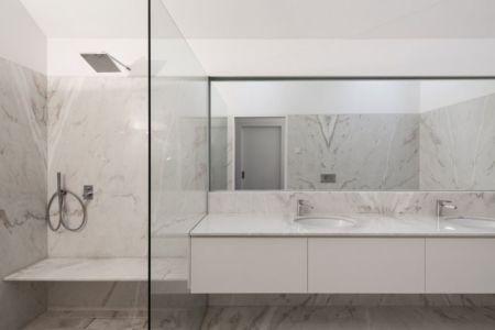 lavabo salle de bains - House-four-houses par Prod Architecture - Penafiel, Portugal