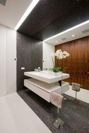 lavabo salle de bains - Villa Agalarov par SL Project - près de Moscou, Russie