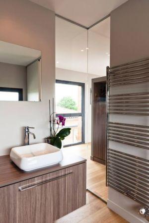 lavabo secondaire - House-in-Lyon par Damien Carreres - Lyon, France