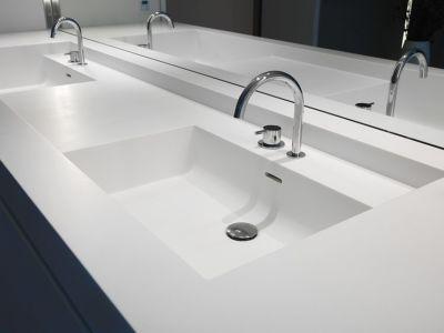 lavabos - HS Residence par Cubyc Architects - Bruges, Belgique