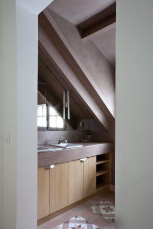 lavabos salle de bains - Rénovation Maison V - Olivier Chabaud Architecte - France