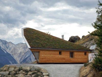 maison Heliodome par Eric Wasser - la Dent Blanche, Suisse