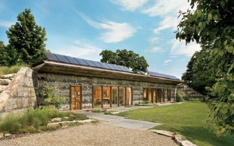maison écologique Allan Shope - Menia, New York, Usa