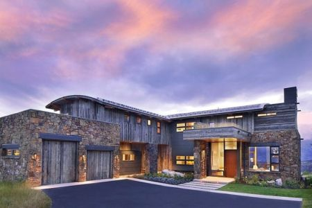 Contemporary Western house par Hoyt Architects - CTA-Group - Usa + d'infos