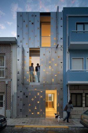 maison contemporaine par Dioniso Lab - Povoa de Varzim, Portugal