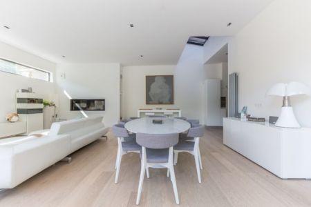 séjour - maison ossature bois par Groupe Futura - France