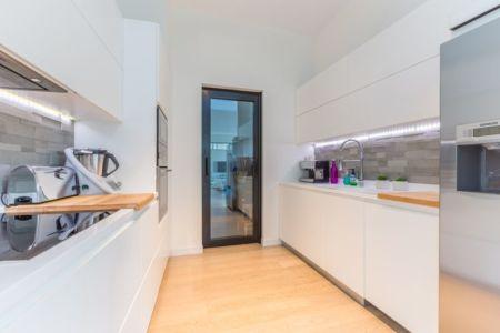 cuisine - maison ossature bois par Groupe Futura - France