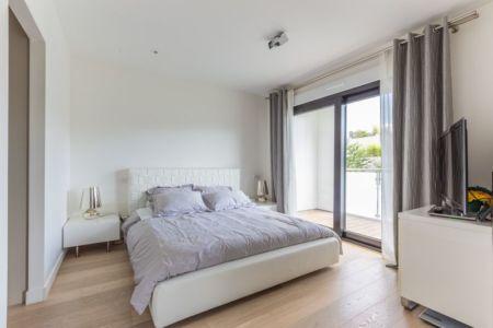 chambre parentale - maison ossature bois par Groupe Futura - France