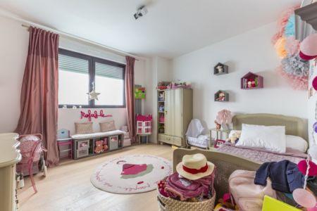 chambre enfant 2 - maison ossature bois par Groupe Futura - France