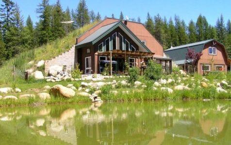 maison semi-enterrée par formworks building - Colorado, Usa