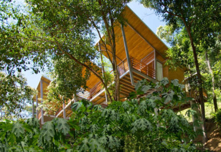 maison sur pilotis par Benjamin Garcia Saxe - Puntarenas, Costa-Rica | + d'infos