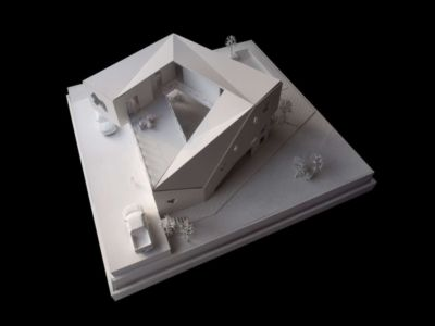 maquette 3 D - Tomoe Villas par Note Design - ALibag, Inde