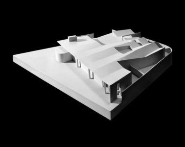 maquette 3D - Bakkaflöt 14 par Studio Granda - Islande