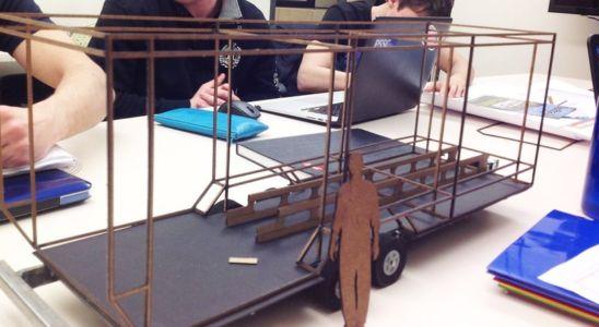 maquette - ApparatusX- Université Penn State - Pennsylvanie -USA