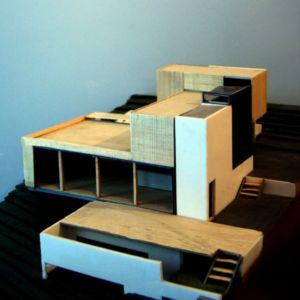 maquette - maison Pegasus par Saint-Cricq architecte - Toulouse, France