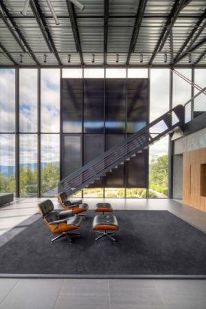 salon - Shokan-House par Jay Bargmann - New York, USA