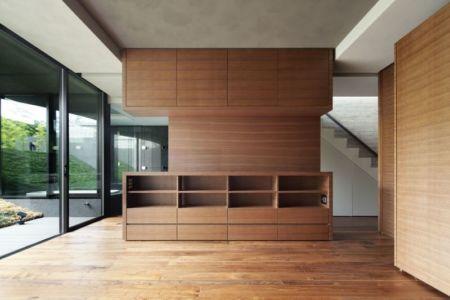 meubles salon - maison-urbaine par Artechnic - Japon
