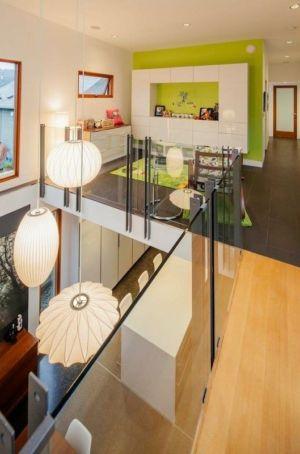 mezzanine - Double High House par Checkwitch Poiron Architects - Nanaimo, Canada - Concept Photography
