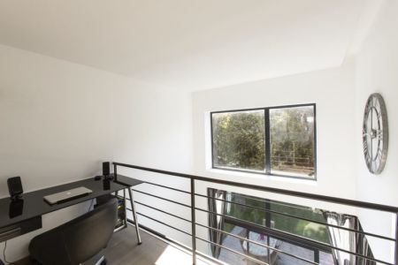 mezzanine - Maisons jumelées par MAG architectes - France - photo Stéphano Candito