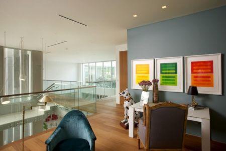 mezzanine - Mimo house par Kobi Karp architecture - Miami Beach, Usa