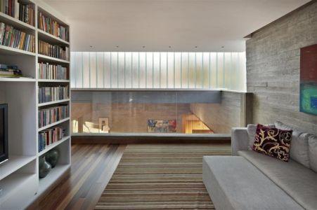 mezzanine - Modern Residence par Anastasia Architects- Belo Horizonte, Brésil -Photo Jomar Bragança