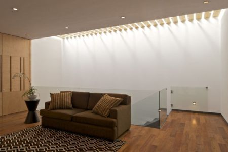 mezzanine - V-House par Agraz Arquitectos - Puerta Plata, Mexique