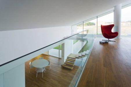 mezzanine - Villa T by Architrend Architecture - Ragusa, Sicile, Italie