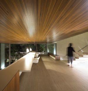 mezzanine de nuit - Tetris House par Studio mk27 - São Paulo, Brésil
