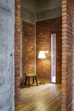 mini pièce illuminée - Sepang-House par Eleena Jamil Architect - Sepang, Malaisie