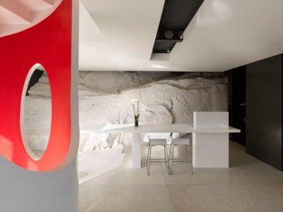 mini salle séjour - Casa Farfalla par Michel Boucquillon - Toscane, Italie