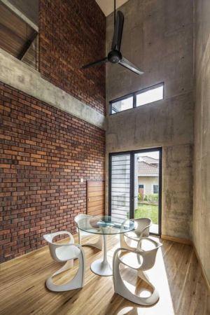 mini salle séjour - Sepang-House par Eleena Jamil Architect - Sepang, Malaisie