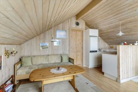 mini salon & cuisine - Tiny-house par Tiny Sod Roofed - Côtes Nord, Danemark