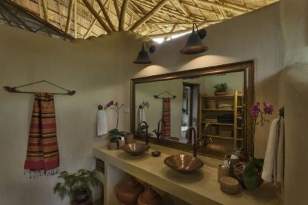 miroir salle de bains - Trika-Villa par Chiangmai Life Construction - Chiang Mai, Thaïlande
